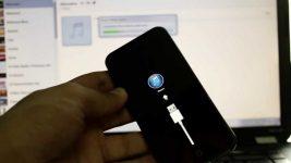 Подготовка iphone для восстановления завис