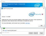 Intel security assist что это за программа