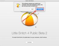 Как удалить little snitch на mac
