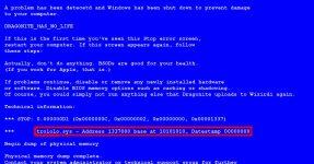 Как узнать причину синего экрана Windows 7