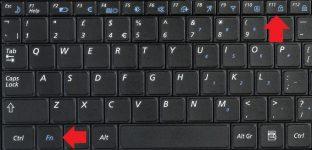 Почему не печатаются цифры на клавиатуре ноутбука
