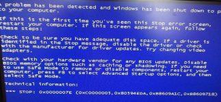 Ошибка 0x0000001a Windows 7 как устранить