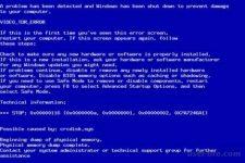 Аварийный дамп памяти Windows 7 как исправить